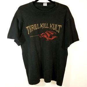 VINTAGE Thrill Kill Kult First Cut Tour tshirt L
